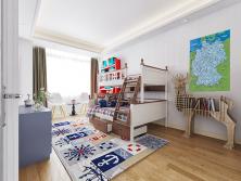 Beispiel Kinderzimmer  mit Deutschlandkarte