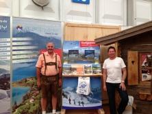 Exklusiver Prospektständer Dorfgastein auf der Ostbayernschau in Straubing