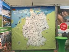 3 m x 3 m Deutschland-Karte