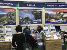 """Messestand """"Urlaub in Südtirol"""""""