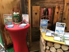 """Gewinnspiel am Messestand """"Urlaub in den Alpen"""""""