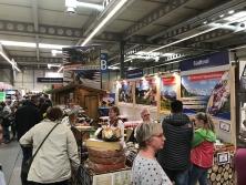 Alpen-Messestand auf der Thüringen Ausstellung in Erfurt