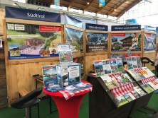 Prospektpräsentation am Alpen-Stand