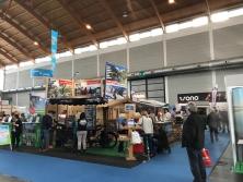 Alpen-Messestand auf der Reisemesse in Friedrichshafen