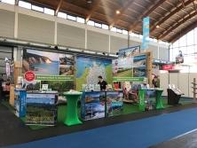 Deutschland-Stand auf der Reisemesse in Friedrichshafen