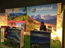 Exklusiver Südtirol Prospekt-Counter