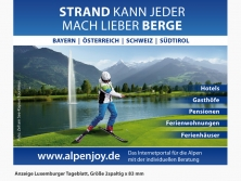 ALPenjoy Anzeige im Luxemburger Tageblatt