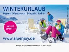 ALPenjoy Anzeige in der Thüringer Allgemein