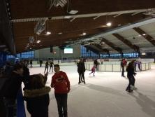 Banner in der Eislaufhalle Harsefeld
