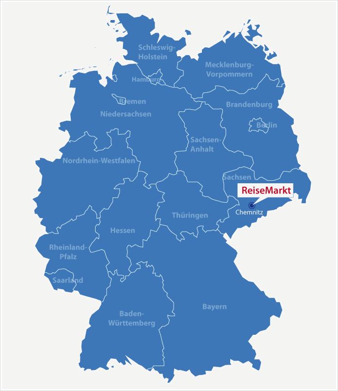 Karte Chemnitz.Karte Chemnitz Reisemarkt Tourismusmarketing Fur