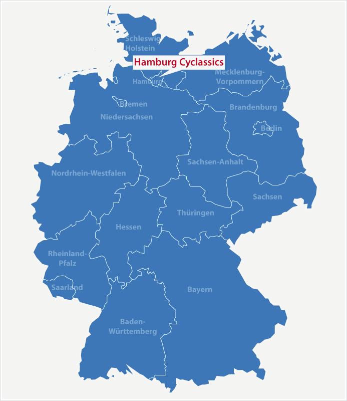 Karte Standort Cyclassics