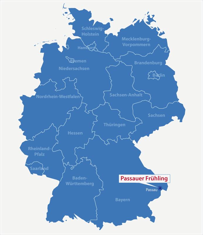 passau karte karte passau passauer fruehling – Tourismusmarketing für