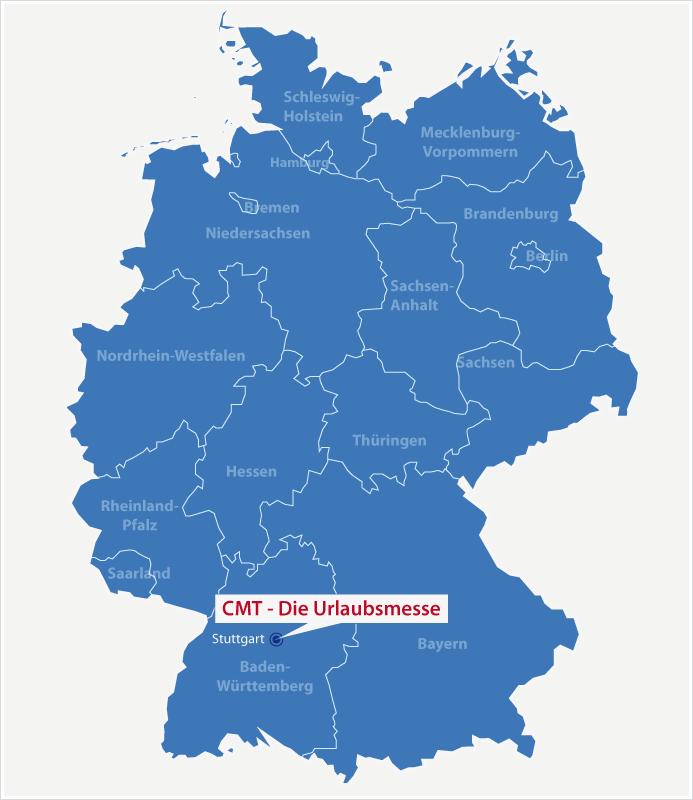 Karte Standort CMT