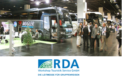 RDA Workshop für Bustouristik in Köln (D)