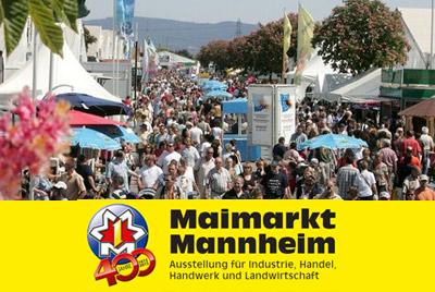Mannheimer Maimarkt in Mannheim (D)