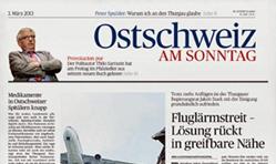 Ostschweiz am Sonntag + Zentralschweiz am Sonntag