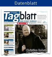 Datenblatt-Tagblatt der Stadt Zürich