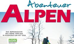 """Abenteuer Alpen"" Wintermagazin"