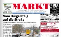 """""""Markt"""" Hamburger Wochenzeitung"""