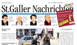 St. Galler/ Herisauer/ Gossauer Nachrichten
