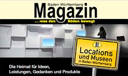 "Baden-Württemberg Magazin – Spezialausgabe ""Locations"""