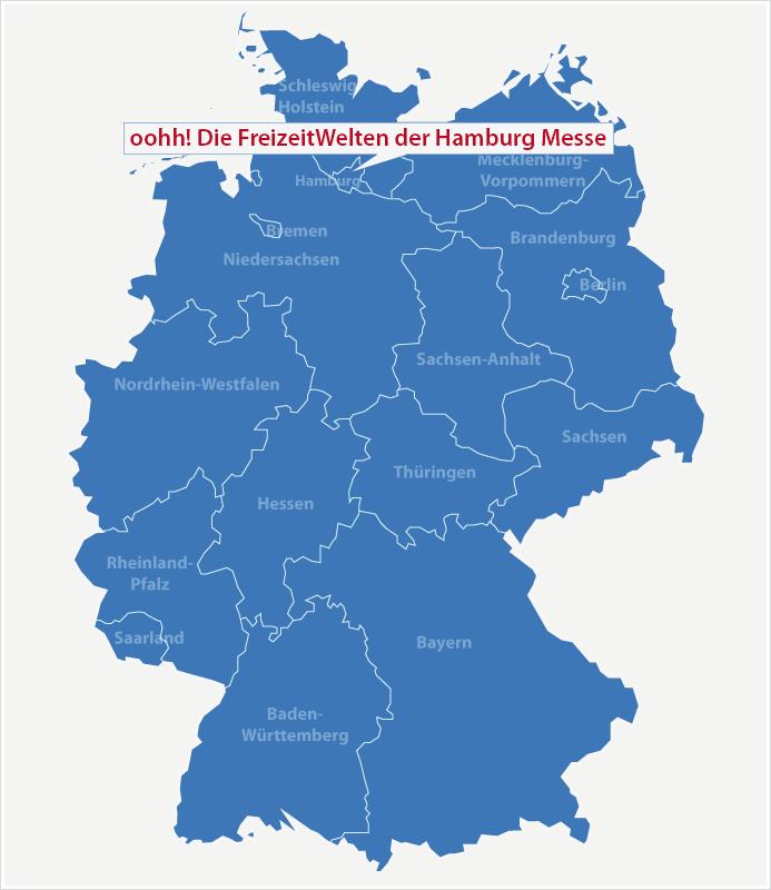 Karte Standort Reisen Hamburg