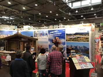 Teilnahme am Alpen-Messestand