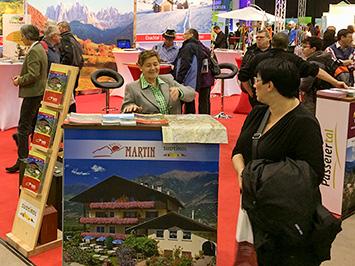 Teilnahme am Südtirol-Messestand