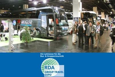 RDA Group Travel Expo für Bustouristik in Köln (D)