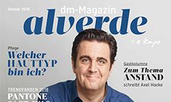 alverde – Kundenmagazin von dm