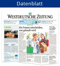 Datenblatt Westdeutsche Zeitung