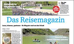 mrw Reisemagazin - Wochendmagazin in 5 Tageszeitungen
