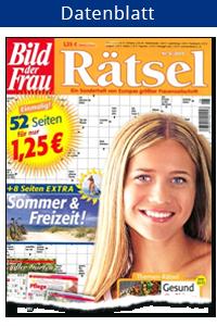 Datenblatt Bild der Frau Rätsel