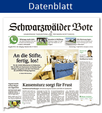 Datenblatt Schwarzwälder Bote