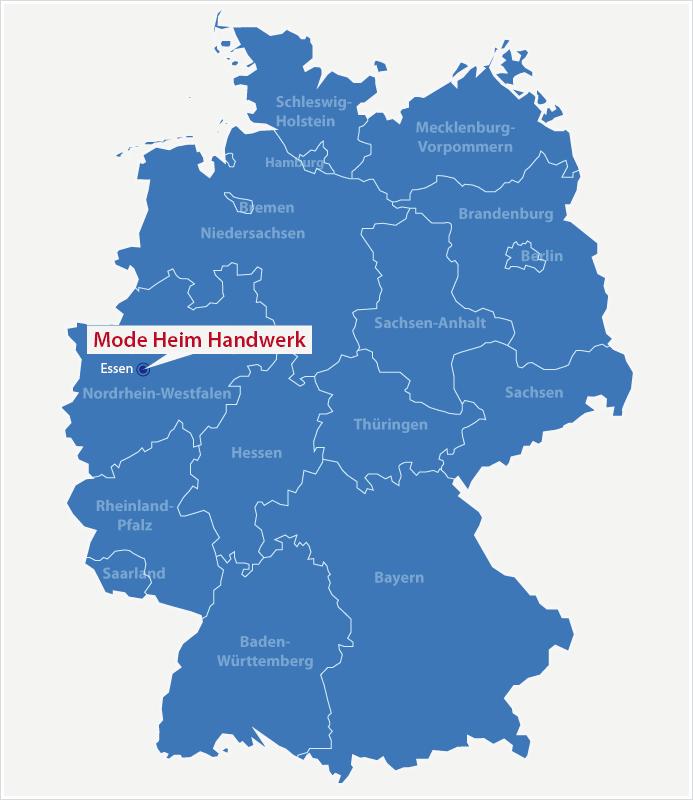 Karte Standort Reise + Camping Essen