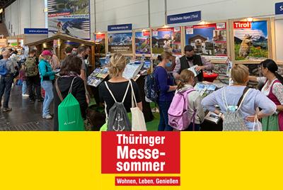 Thüringer Messesommer in Erfurt (D)